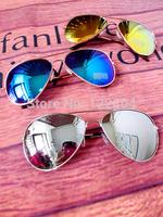 Sunscreen HARAJUKU general sunglasses sun glasses price of cabbage mirror box