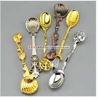ancient ways is delicate coffee spoon Luxurious palace ou small spoon Lovely creative dessert spoon spoon scoop of taste