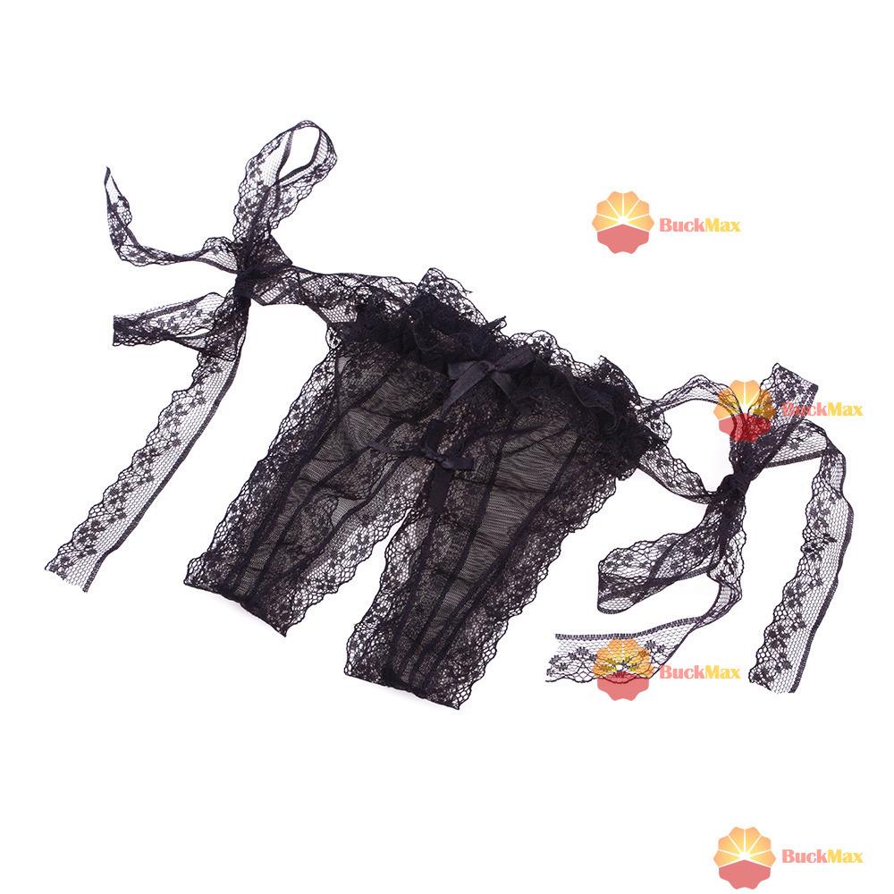 topstore Sexy Womens Abrir Crotch Slipknot tangas fio dental Bikini Roupa Lingerie # 01 [Black ] [ Economize até 50% ](China (Mainland))