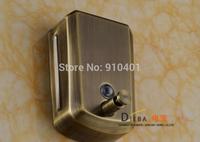 Free shipping Wholesale And Retail Promotion Antique Bronze Soap Dishpenser Square Bathroom Kitchen Soap Dispenser 800ml