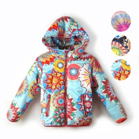 new 2014 hot  European and American fashion girls hooded thin coat color graphics kaleidoscope free shipping