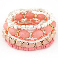 New Arrival Bohemia Style Rhinestone Beads Multipack Bracelet & Bangles Fashion Women Bracelets Accessories Wholesale