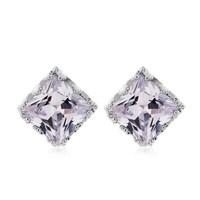 2014 fashion jewelry for women new design free shipping high quality geometric resin zircon big stud earrings  wholesale