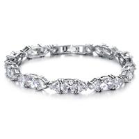 Zircon crystal bracelet fashion accessories platier women's diamond bracelet n927