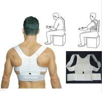 Men Magnet Posture Back Shoulder Corrector Support Brace Belt Therapy Adjustable