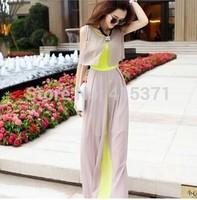 2014 New Korean Style European Stylish Fashion Long Dress For Women In Summer Women's Plus Size Bohemian Fashion Dress On Beach