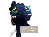 How to Train Your Dragon 2 plush toy, NightFury plush toy Night Fury toy for kids toy Free shipping