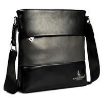 2014 New Hot Sale genuine leather man bag small bag cowhide casual shoulder bag men Business messenger bag Cheap wholesale