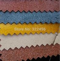 Synthetic leather PVC glitter flashlight powder printing Shining Points shiny face