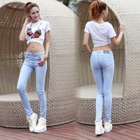 Женские джинсы JYD slim WT5095