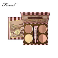 1 Set New Brand Faced Makeup, 6 Color BRONZING COLLECTION - FRENCH RIVIERA EDITION with Primer,BRONZED&BEAUTIFUL BRONZER PALETTE