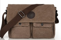 New 2014 Men's Canvas Shoulder Bags Casual Man Messenger Bags Fashion Men Business Handbag Travel Bag