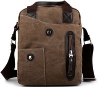 New 2014 Men's Canvas Messenger Bags Casual Man Shoulder Bags Fashion Men Business Handbag Travel Bag