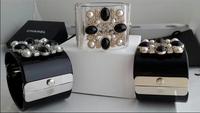 hot sale 2014 New fashion luxury pearl wide transparent bracelet bangles women bracelet  wholesale designer uassgi fgfhja oagjit