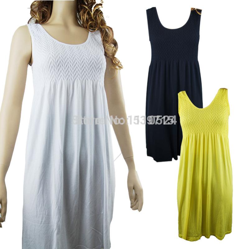 maternity dress dresses white modal embossing uk