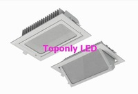 square downlights led 30w,ac100-240v,3000lm in white,can rotate 45degree,directly replace Philips traditional downlight MBN200