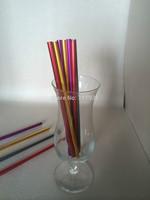 New! Free shipping colorful aluminum drinking straws 20pcs/lot food grade juicy straws mixed colors factory direct shipping