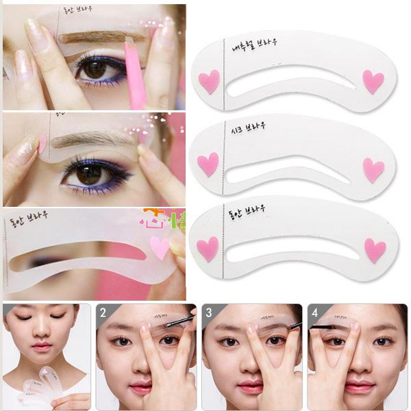 Eye Templates For Makeup Makeup Eye Brow Template