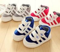 2014 spring male girls shoes slip-resistant wear-resistant breathable low canvas children shoes