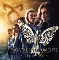 2014 New Fashion Women Men The Mortal Instruments City of Bones Rope Clockwork Angel Pendant Necklace Jewelry Free Shipping