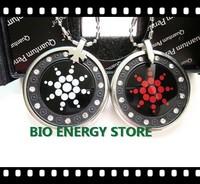 L037 30pcs/lot With nano card + fine package + rhinestones acrylic nano energy pendant