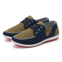 2014 High-quality goods leisure sandals Four seasons breathable classic men's shoes daily leisure V shoes color matching