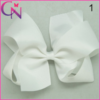 "300pcs/lot Baby Ribbon Bows With Hair Clips Hair Bows Boutique Hair Bows For Girls 6"" CNHB-1407147"