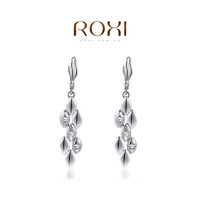 ROXI Birthday / Christmas gift Classic Genuine Austrian Crystals  Earrings For Women Hot Sale Fashion Jewelry For Party