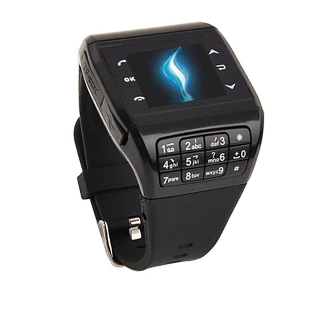 1.4-дюймов-сенсорный-экран -Quadband-одной-Sim-карты-Bluetooth-MP4-плеер-GSM-GPRS-наручные-часы-сотовый- телефон. 2d013425f8f46
