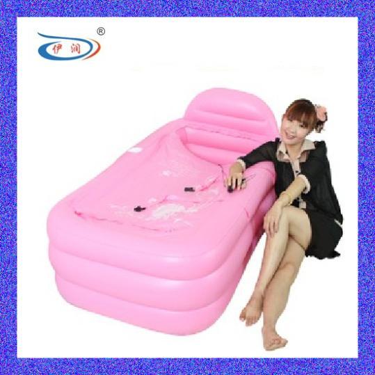 Bath 2013 new thick folded inflatable bath tub bath tub warm beauty adult deep soaking tub(China (Mainland))