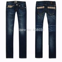 HOT!Free shipping wholesale Brand L jeans 2014 new fashion women designer pants low waist women straight leg jeans 98(China (Mainland))
