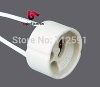 Freeshipping 100pcs/lot Ceramic GU10 Base Adapter