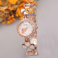 Hot selling New Fashion Women Rhinestone Watches Top Quality Ceramic Women dress Casual lady Quartz Wristwatches FC324#