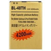 BL-48TH 4200mAh Mobile Phone Replacement Mobile Phone Battery for LG Optimus G Pro / F240K / F240S / F240L / E988 / E980 / D684