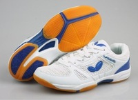 New 2014 men and women butterfly table tennis shoes Comfort Breathable casual Lace-UP men's sneakers 36-46