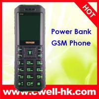 Power Bank Phone Original Dgtel D90 1800mAh Big Battery/Speaker Flashlight Dual Sim Old Man  Senior Phone cheap Mobile phone