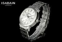 Bain elson authentic fashion tide Men's stainless steel quartz watch