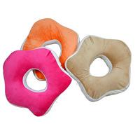 High quality slow rebound memory cotton petal shaped nap pillow cushion
