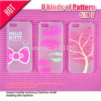 Free shipping Luminous Romantic mobile phone shell phone case