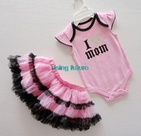 H07 Hot Selling Beautiful New Cute Princess Rock Wind Romper With Veil Girls Suit