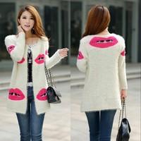 cardigan women coat tricot winter crochet women sweater inverno long cardigan poncho sobretudos femininos 2014 chaquetas mujer