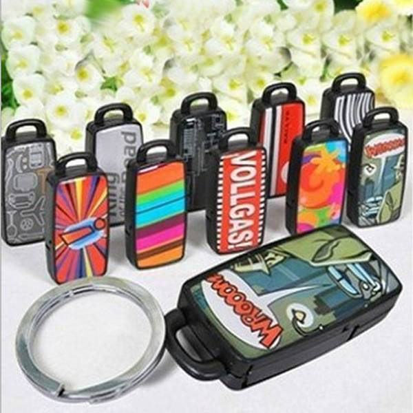 1PCS Colorful Remote Find Lost Keys Locator Key Finder Whistle Keychain Whistle Sound Control(China (Mainland))