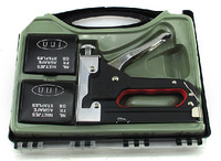 Free Shipping 3 Ways Staple Gun, With 300pcs Staples, For Ceiling/Roofing/Woodworking/Upholstery