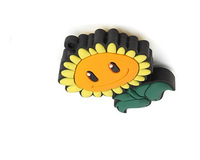Free shipping plants vs zombies sunflower shape 16gb cute usb mini flash drive 4gb 8gb 16gb 32gb