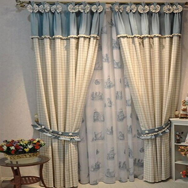 Cortinas para sala new woven curtains for kids luxury design 2014 limited home sheer curtains - Curtain new design ...