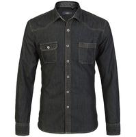 New 2014   Autumn  Brand   fashion  Casual slim fit shirt  long sleeve 100%cotton   jeans camisa  HL8101 XS S M L XL XXL XXXL