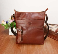 genuine leather messenger bags for men shoulder bag male free shipping