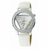 2014 Free shipping fashion ladies watch silica gel quartz watches women dress watches monopoly Hollow diamond ladies watches