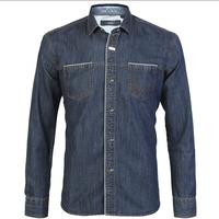 New 2014   Autumn  Brand   fashion  Casual slim fit shirt 100%cotton long sleeve    jeans camisa  HL7901 XS S M L XL XXL XXXL