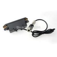 2PCS Durable Black Adjustable Acoustic Guitar Humbucker Soundhole Pickups